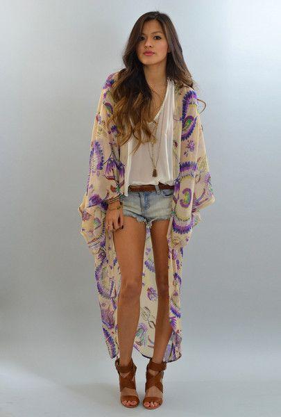Dreamcatcher Kimono