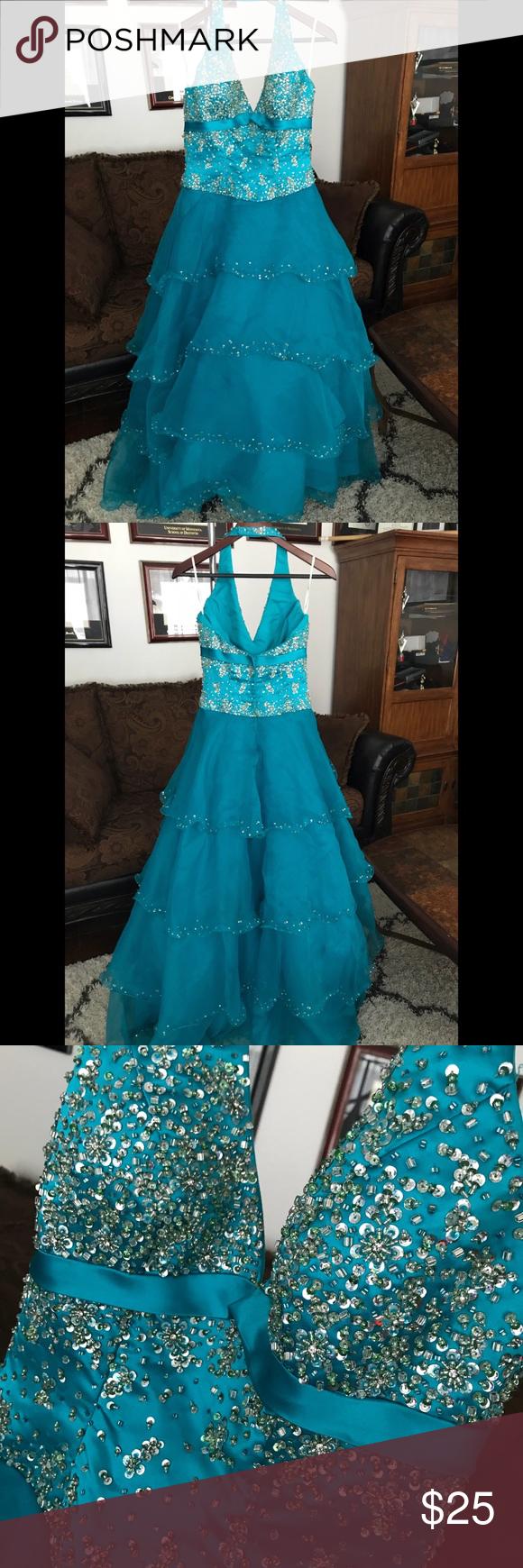 Turquoise Prom dress | Turquoise prom dresses, Prom and Tiffany