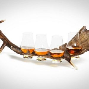 SIR JACK'S STAG HORN WHISKEY FLIGHT