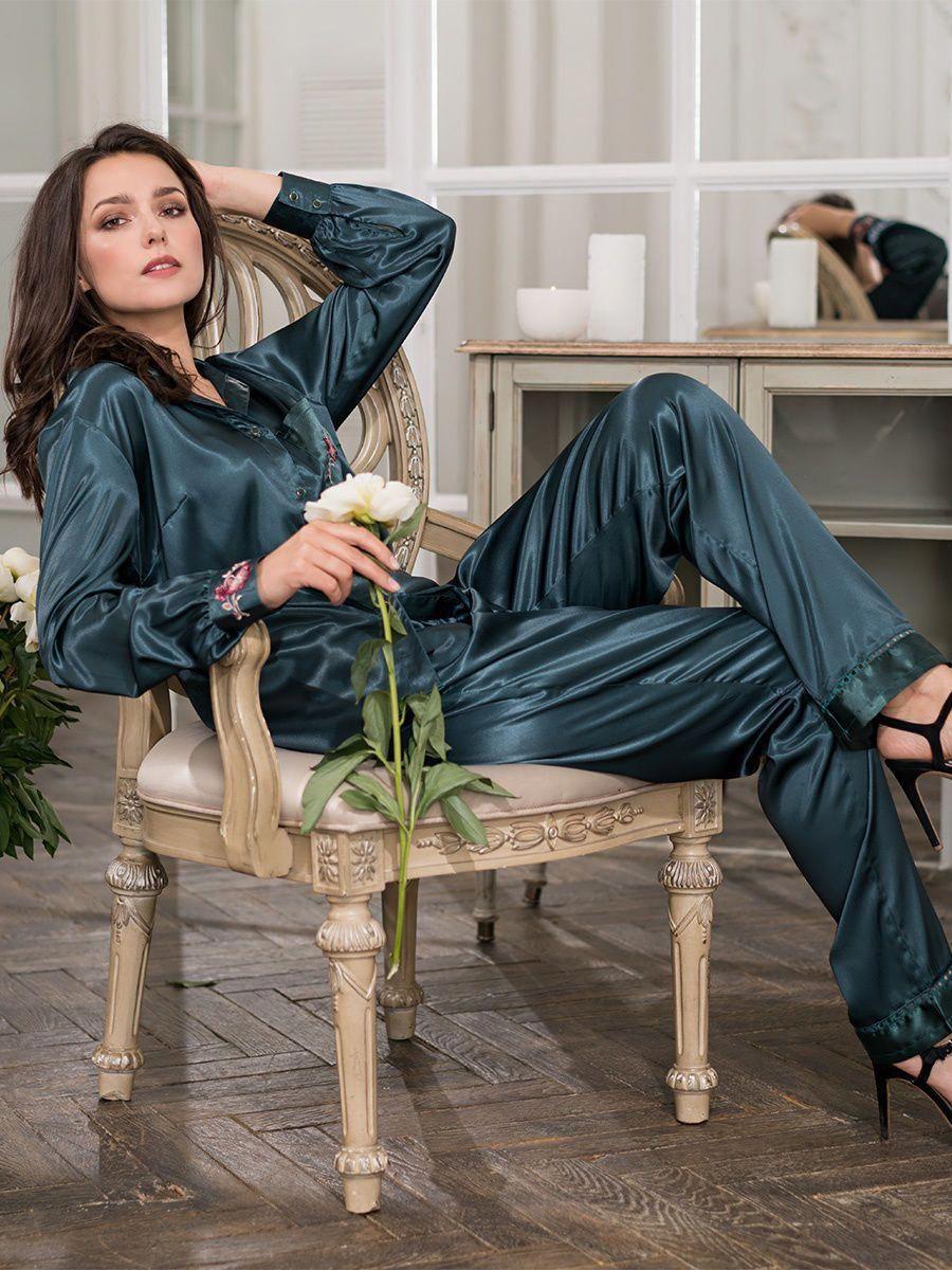 60eda13e5d Silk Pajama  silkpajamas Satin Pjs