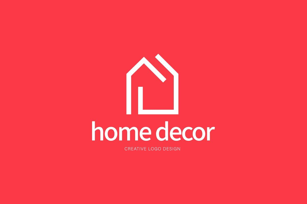 Home Decor Logos In 2020 Decor Logo Creative Logo Interior Designer Logo