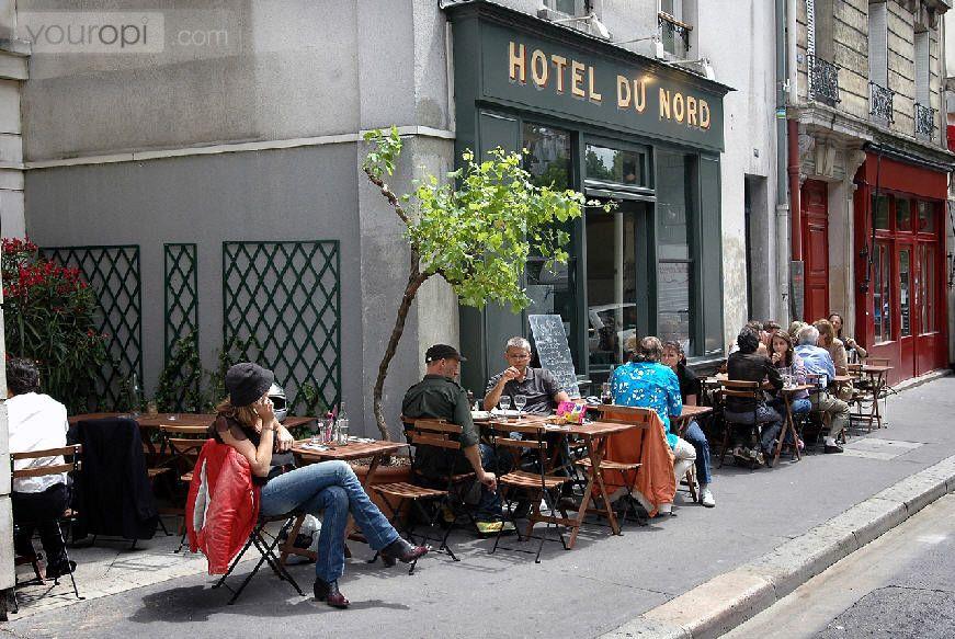 Restaurant in Paris: Hotel du Nord - Restaurant Hotel du Nord Paris