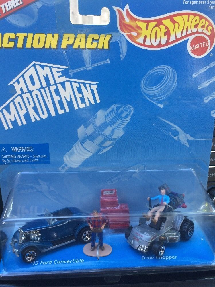 Hot wheels action pack nib tvs home improvement 33 ford