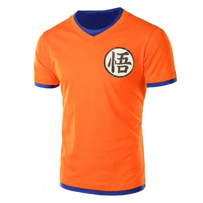 Aliexpress.com  Comprar Dragon Ball Z T Camisa de Los Hombres de Los Hombres  de 3ba423edd20cd