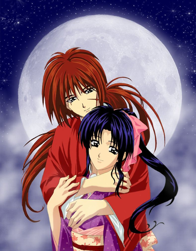 kenshin and kaoru - Google Search | Casal anime, Anime ...