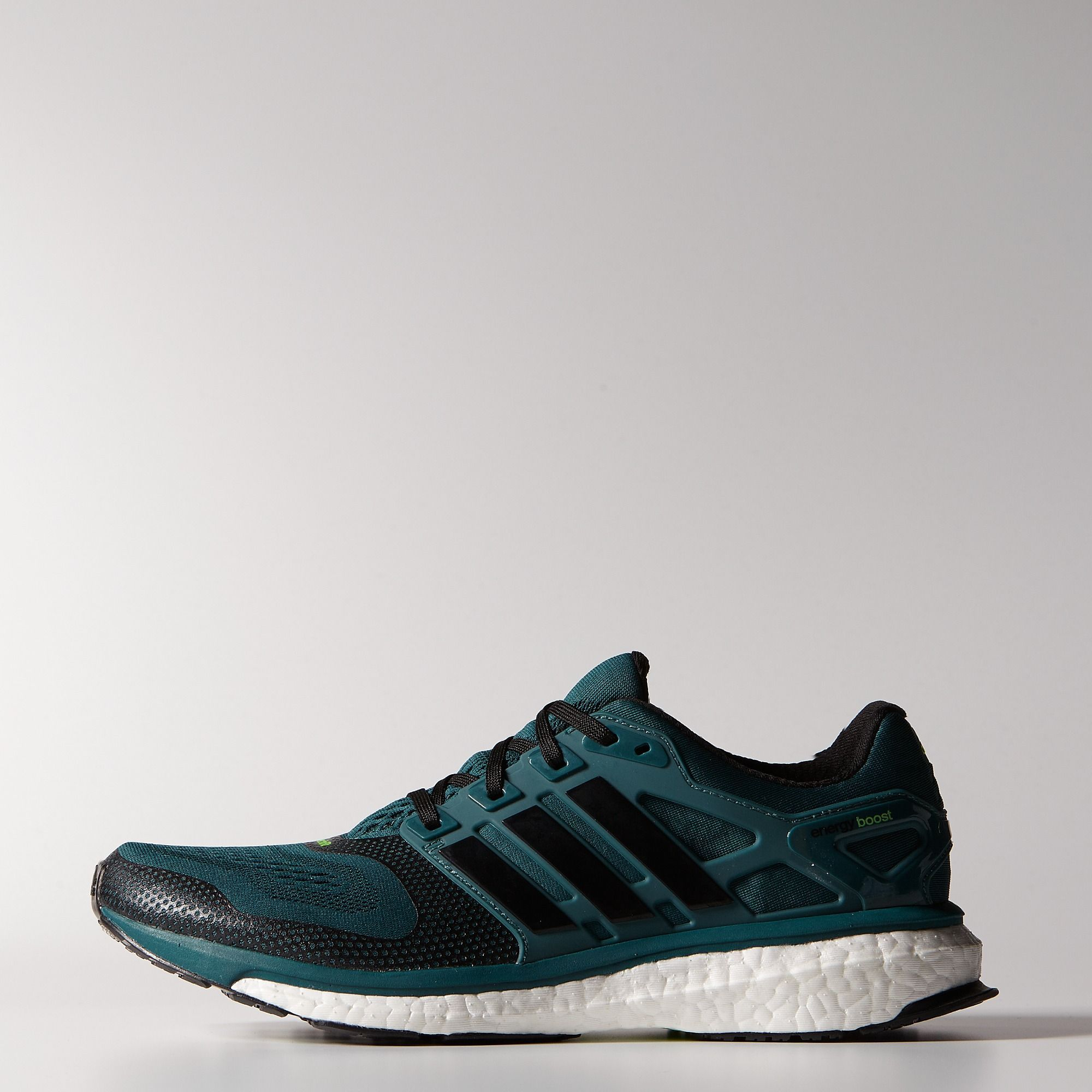 adidas Energy Boost 2.0 ESM Shoes Color Rich Green Black