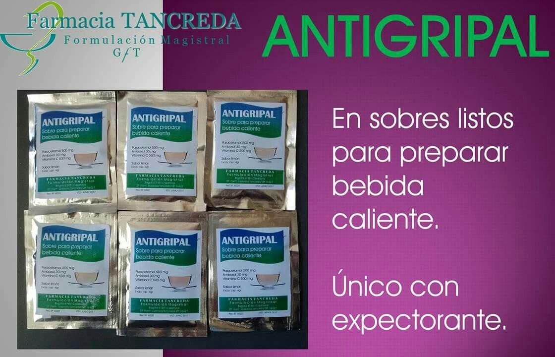 Disfruta la llegada del invierno sin resfríos con la bebida antigripal exclusiva de Farmacia Tancreda. Única con expectorante. ☃☕