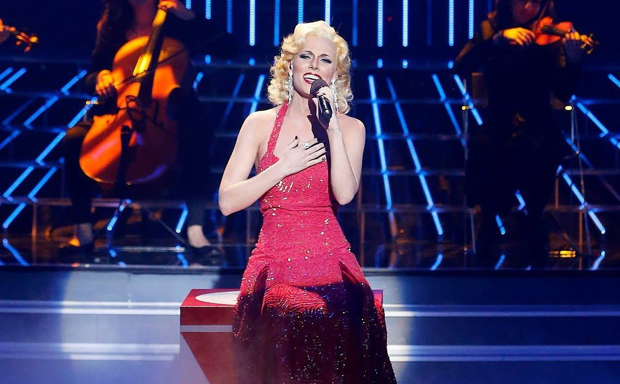 Tu Cara Me Suena Edurne Imita A Christina Aguilera Actresses Tv Presenters Eurovision Song Contest