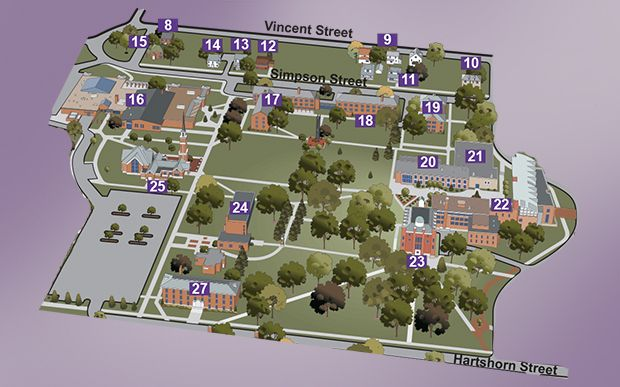 mount union campus map Never Get Lost Again With Mount Union S Interactive Campus Map mount union campus map