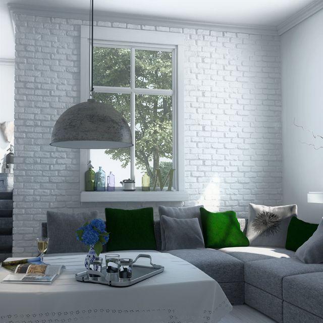 Plaquette de parement Loft - CASTORAMA Apartments Pinterest