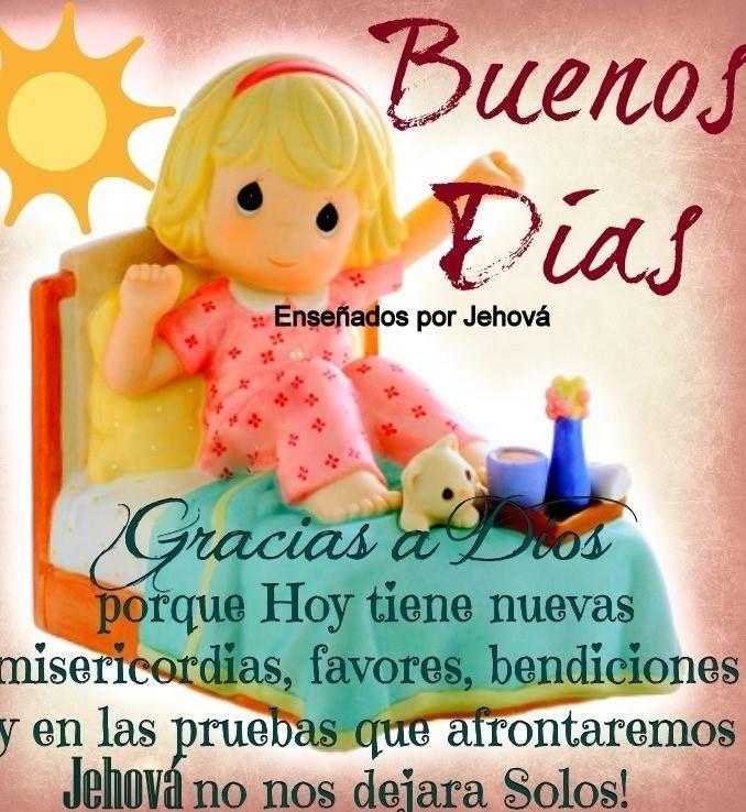 Buenos Dias! | I love mondays, Dear god, Winnie the pooh