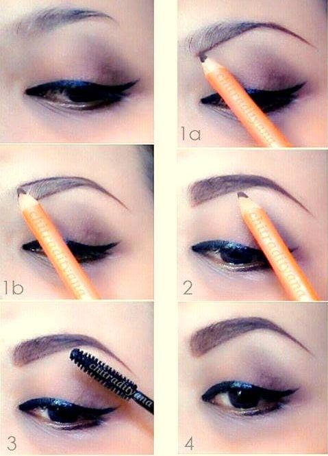 Tutorial How To Shape Your Eyebrows with only an Eyebrow ...