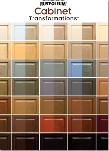 Diva s rust oleum cabinet transformation kitchen cabinet for Colour charts for kitchens