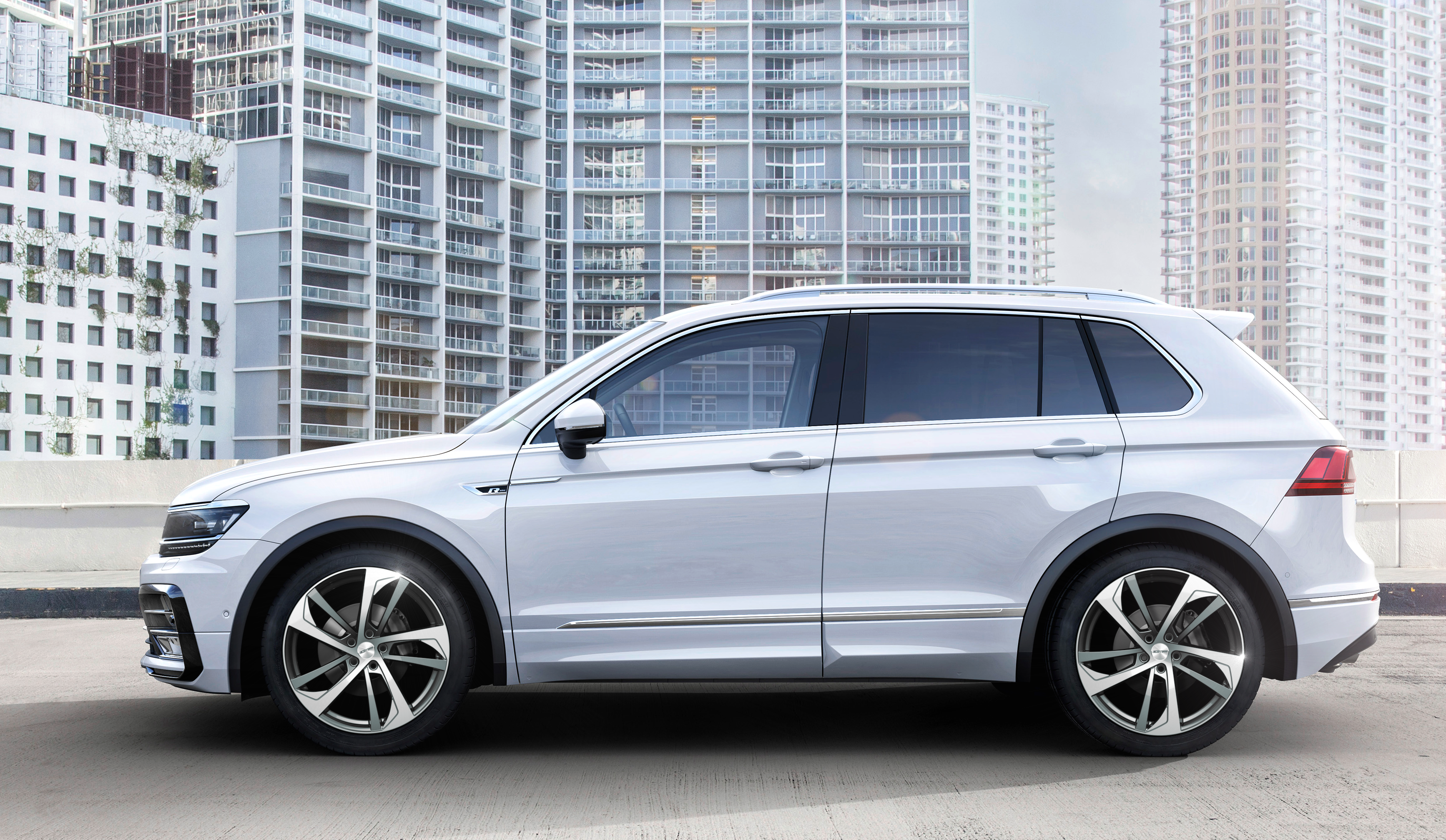 Italian Design Vw Vw Tiguan With Katana Anthracite Diamond Professional