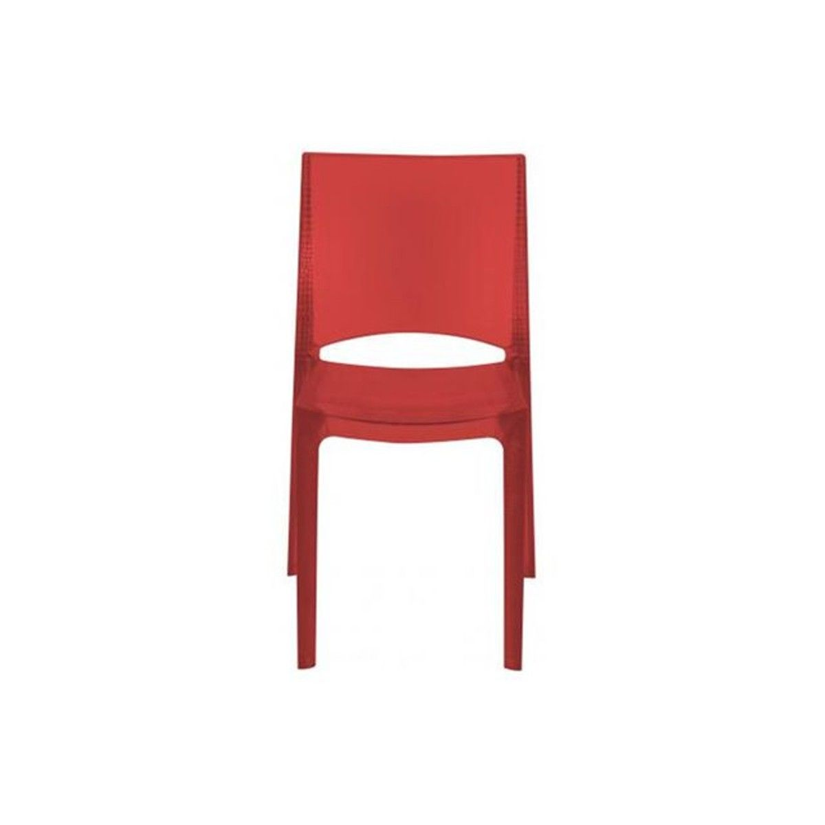 Chaise Design Effet Croco Rouge Fumee Sommet Taille Taille Unique Chaise Design Chaises Rouges Et Chaise