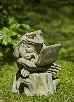 Campania International Totally Zen Too Frog Statue