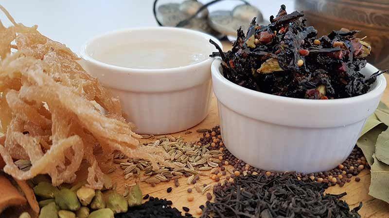 How To Make Irish Sea Moss Tea Detox Cure Recipe In 2021 Sea Moss Spicy Tea Irish Sea