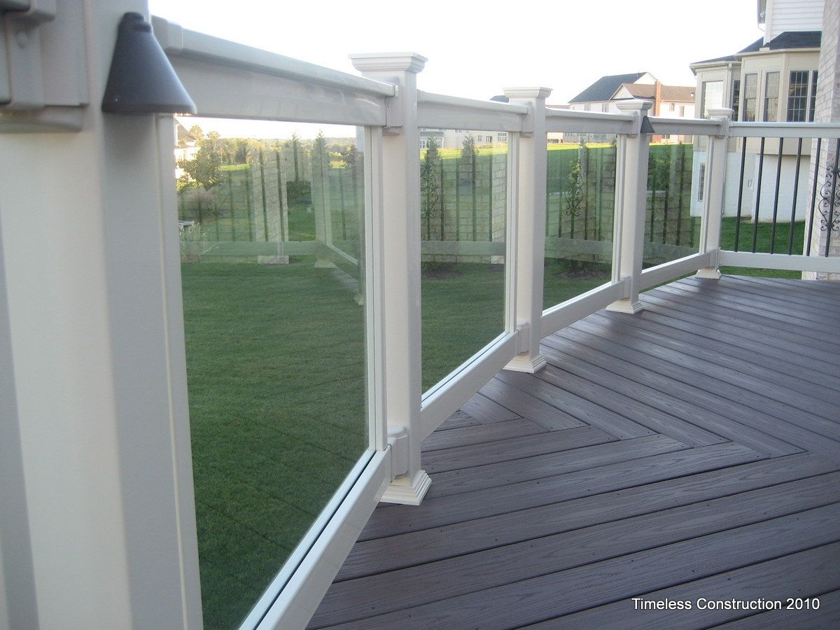 Best On Balcony Looking Out Through Clear Rails Vinyl 400 x 300