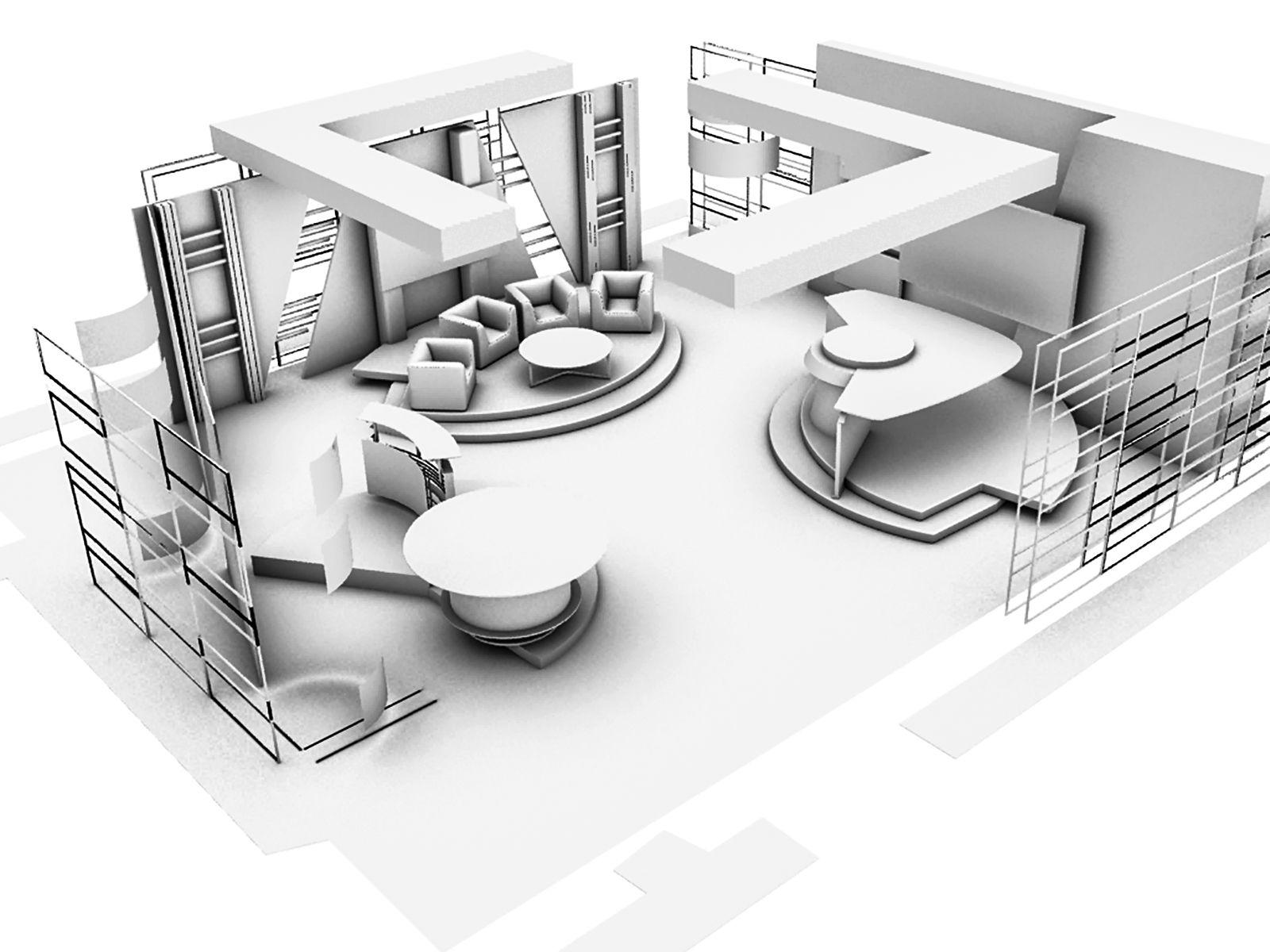 Broadcast Set Design For Info Programs Tv Avala Belgrade Serbia 01 Interior Design Programs Tv Set Design Tv Design