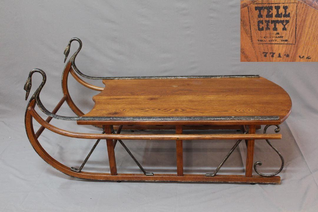 Antique Sleigh Coffee Table Cutters Sleds Wagons Pinterest Primitives And Decorating