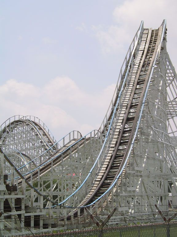 Tornado Roller Coaster Adventureland Iowa With Images Iowa
