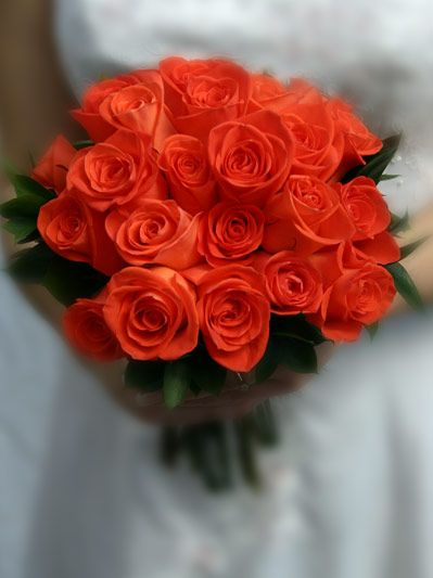 Assez ORANGE WEDDING FLOWER BOUQUETS | Orange wedding flowers, Wedding  WJ62