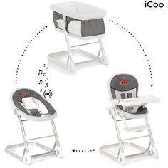 Complète Grow Haute Icoo With Chaise Offre 3 En 2 Me 1 Transat m0wynON8v