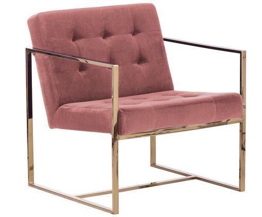 Machen Sie Ihr Wohnzimmer Mit Samt Sessel Manhattan In Rosa Zur Wohlfuhloase Entdecken Sie Weitere Mobel Von Westwing Fauteuil Velours Fauteuil Fauteuil Rose