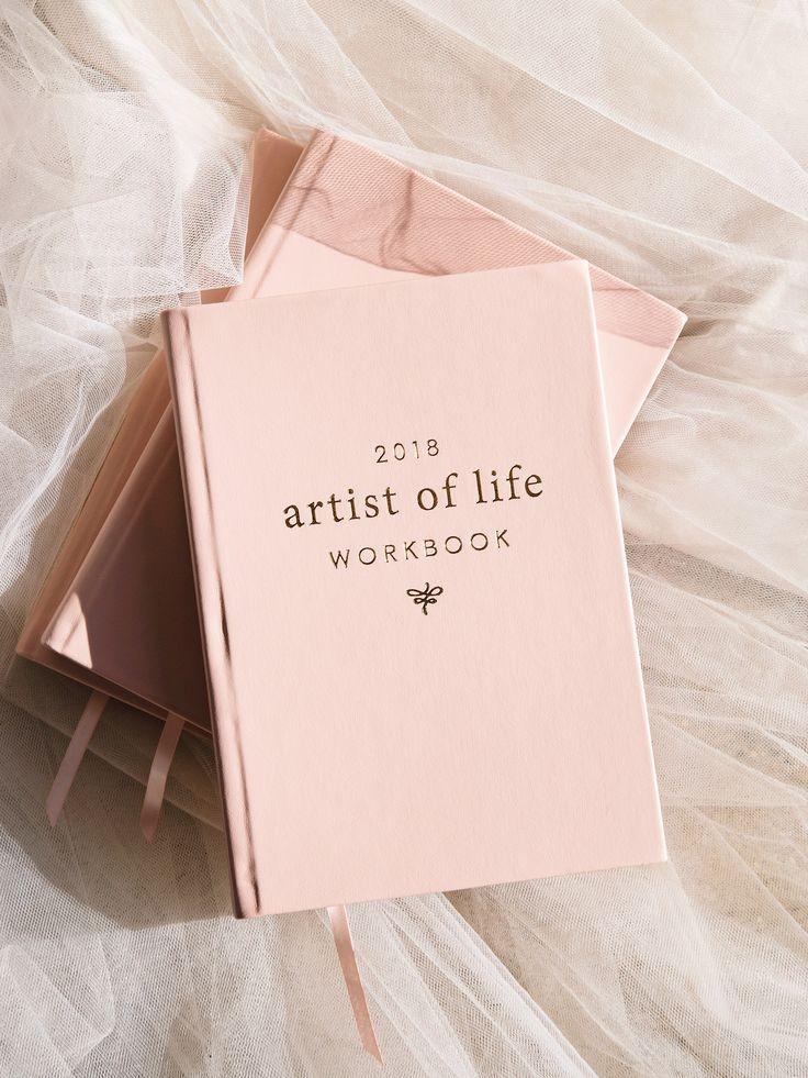 2018 artist of life workbook book aesthetic journal