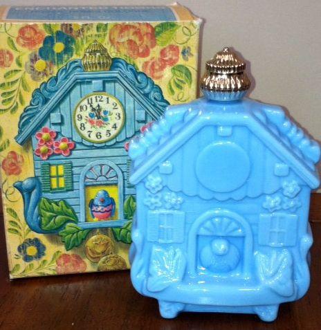 Avon - Vintage - Flacon 'Horloge Coucou - Années 70