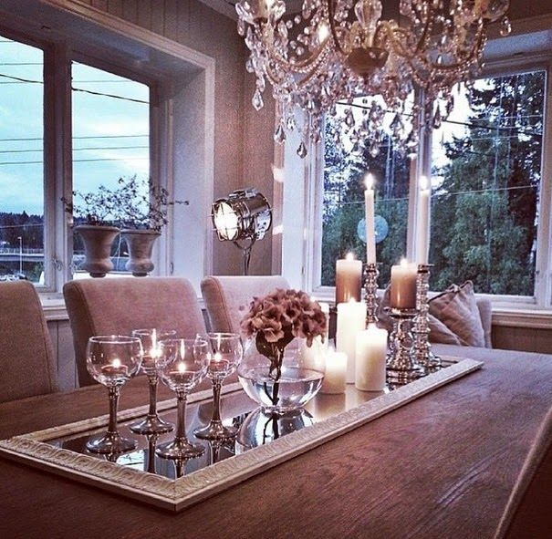 Lush Fab Glam Blogazine: Home Design Inspiration: Fabulous Dining Table  Decor.