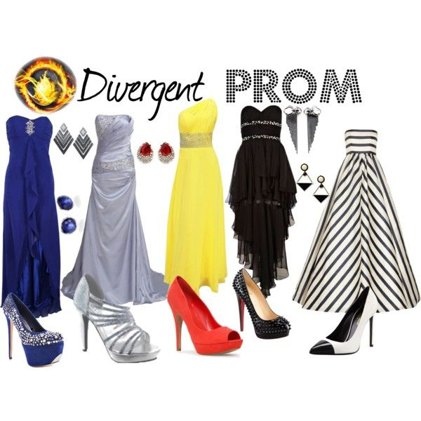 """""""Divergent Prom"""" by thalia-wilson on Polyvore 