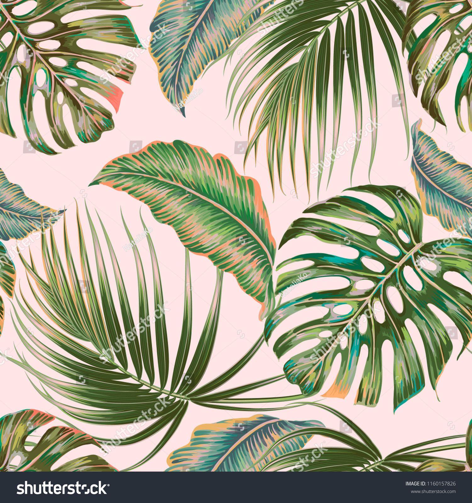 Tropical Palm Leaves Jungle Leaf Vector Seamless Floral Pattern Background Vintage Botanical Wallpaper Il Leaves Vector Botanical Wallpaper Vintage Botanical Find over 100+ of the best free tropical leaves images. tropical palm leaves jungle leaf