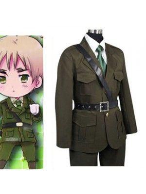 Axis Powers Hetalia Arthur Kirkland United Kingdom Cosplay Outfits Costumes
