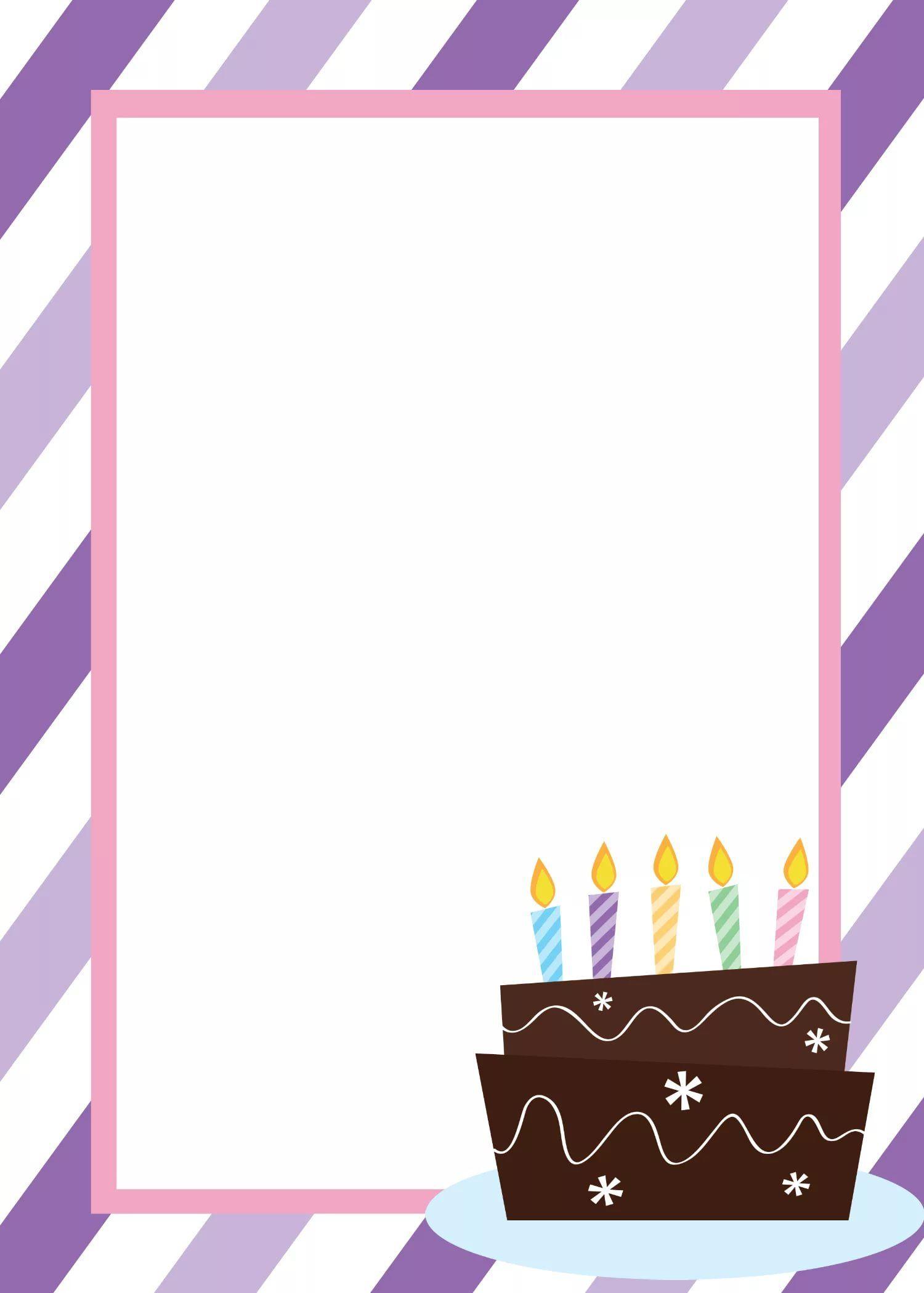 приглашения на день рождения шаблоны образцы для печати: 3 ...