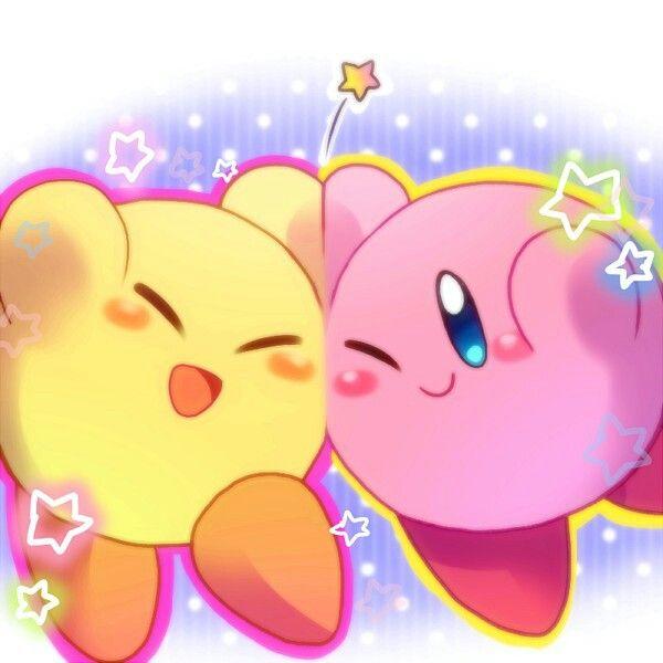 Kirby and Yellow Kirby