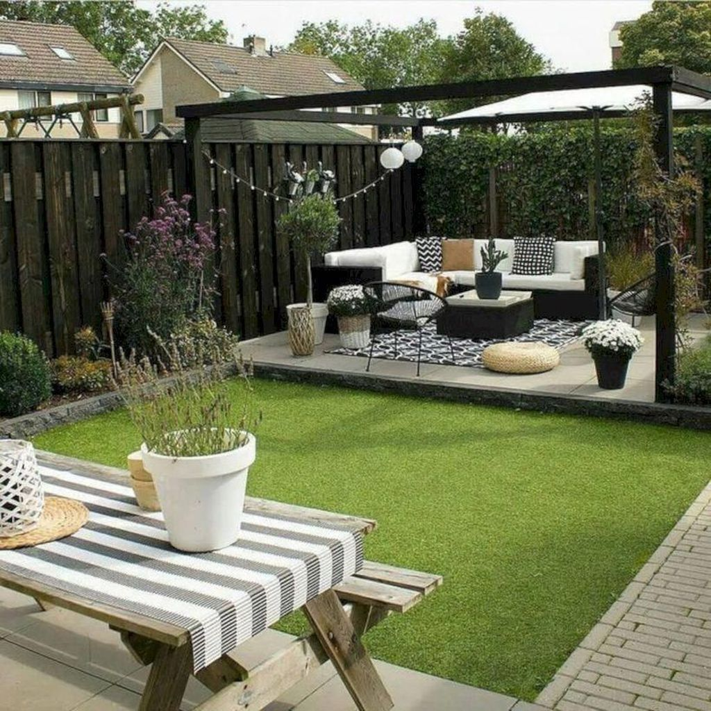 30 Fabulous Terrace Garden Design Ideas For Valentines Day Terrace Garden Design Small Backyard Landscaping Luxury Garden