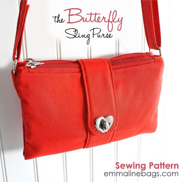 Looking for your next project? You're going to love The Butterfly Sling Purse by designer Emmaline Bags.