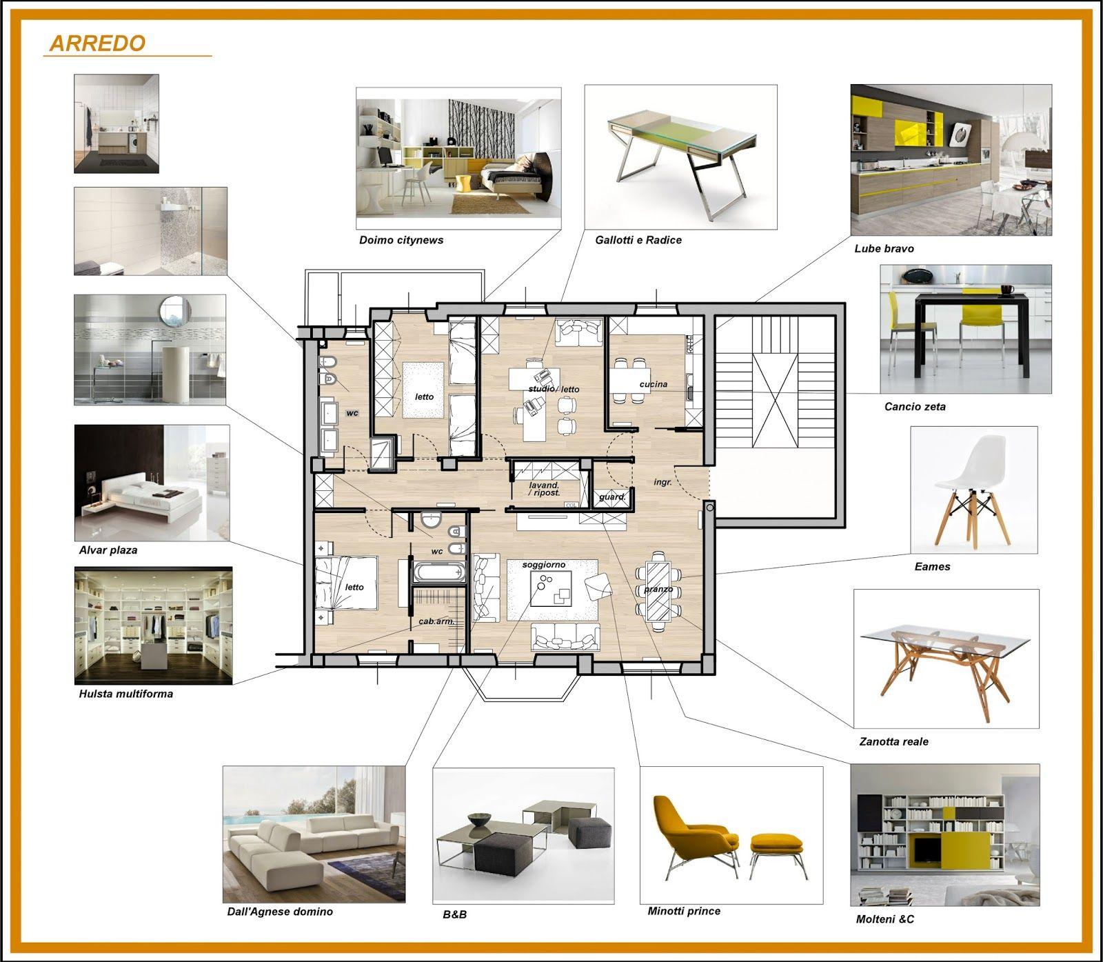 Pin di marisa tosoni su arredamento nel 2019 for Progetti design interni