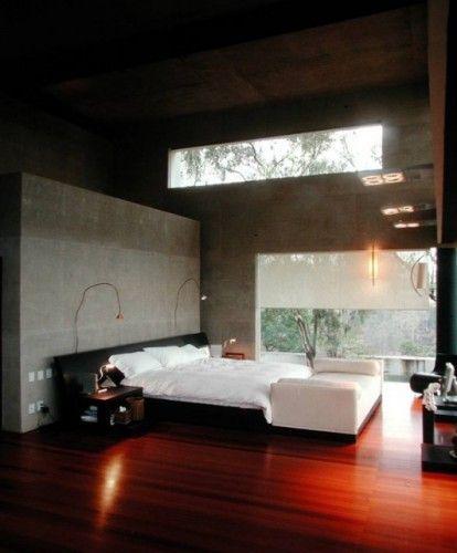 Modern Minimalist Bedroom Design: Minimalist & Industrial Lofts