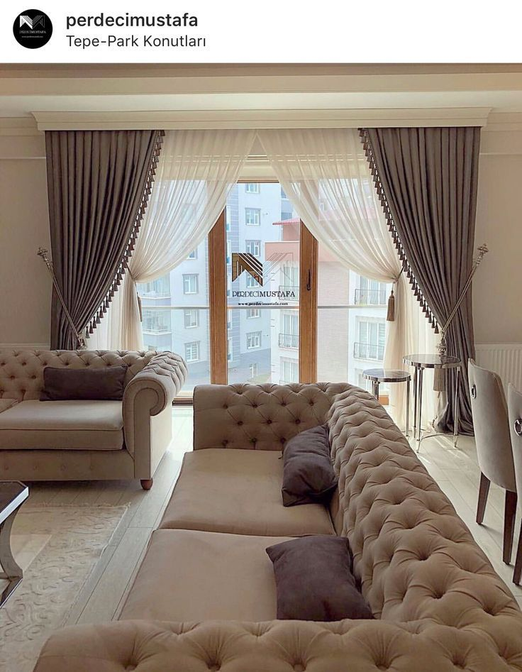 Best Curtains Living Room Ideas, 2020 | Oturma odası ...