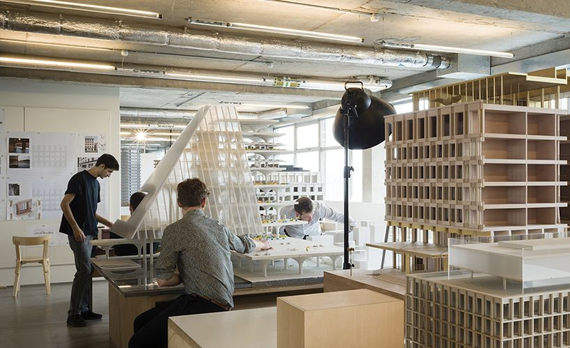 Architecture Office marc goodwin photographs the studios of architecture firms