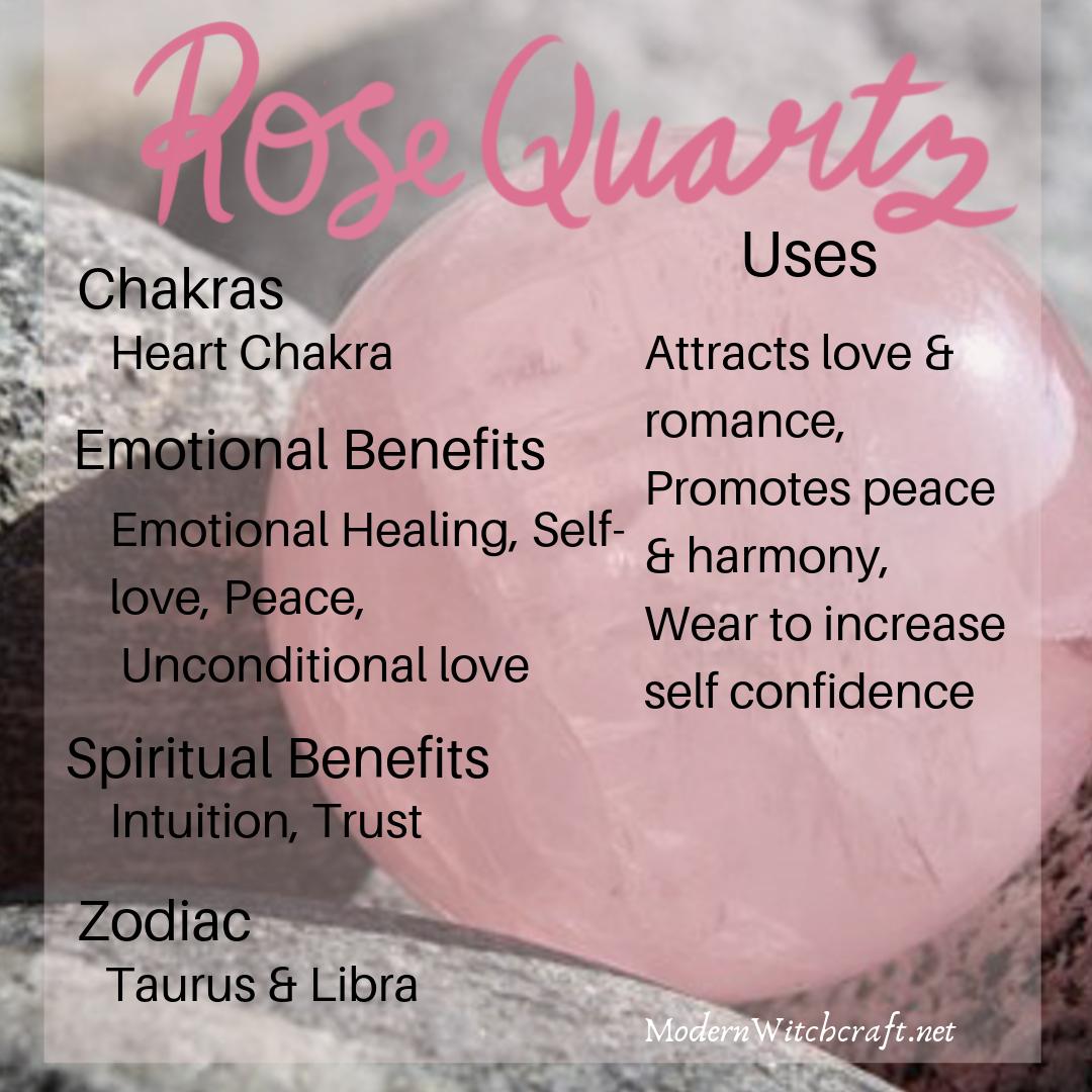 Healing Crystals Rose Quartz - Crystal Basics | Crystal ...