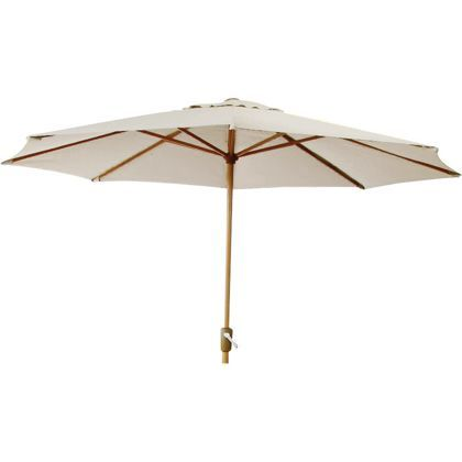 Royalcraft Sahara Garden Parasol 2.5m - Cream. at Homebase -- Be ...