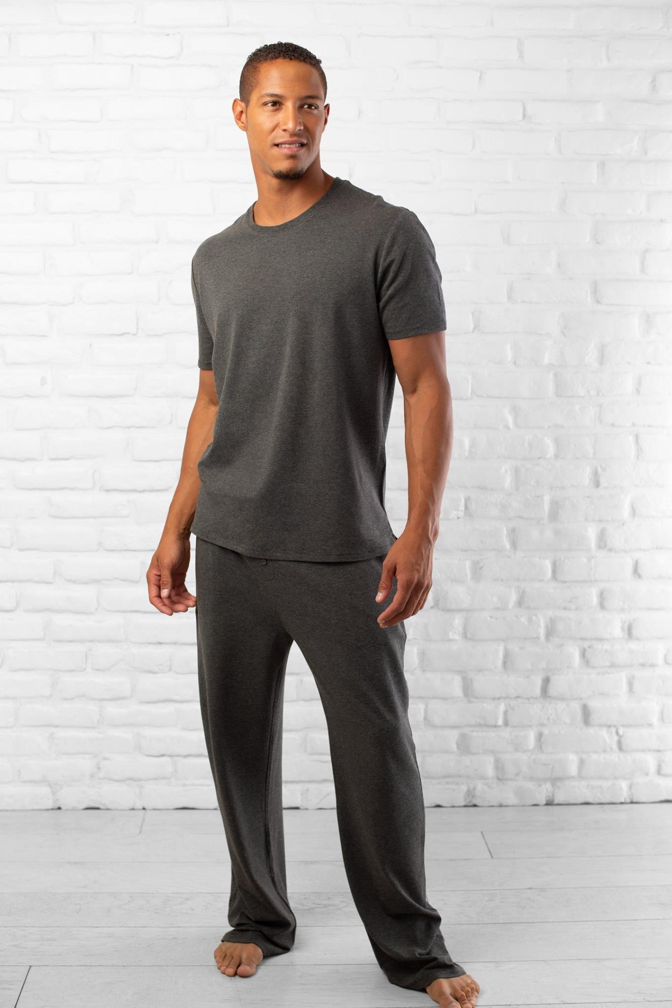 Men's Bamboo Sleep Shirt and Pants Bamboo fashion, Ship