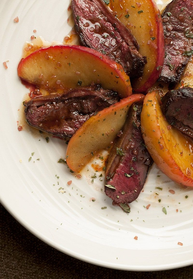 Duck Breast with Apples   Recipe   Orchards, Dishes and Apples