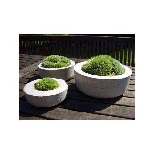 Zauberschalen * Gartendeko aus Beton * Deko Garten Pinterest