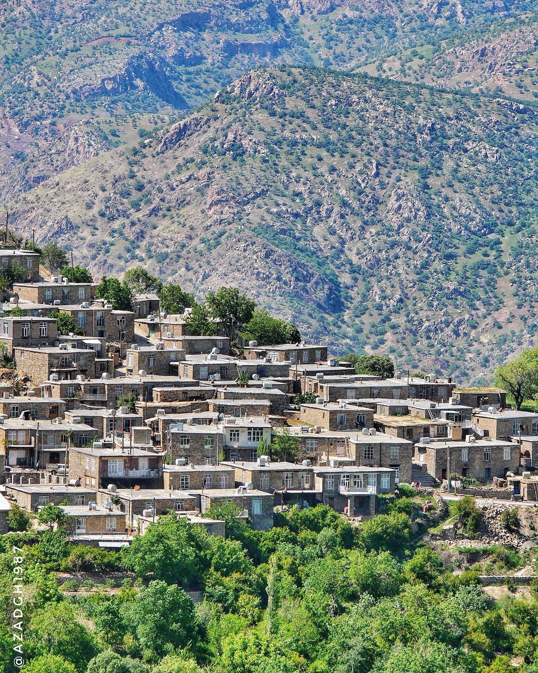 The Beautiful Kurdish Village Of Novin Hewraman Region Kurdistan Ir Photography Kurdistan Places To Visit