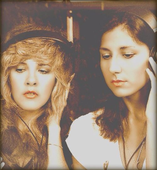 Stevie & Sharon Celani...they look closer than close...