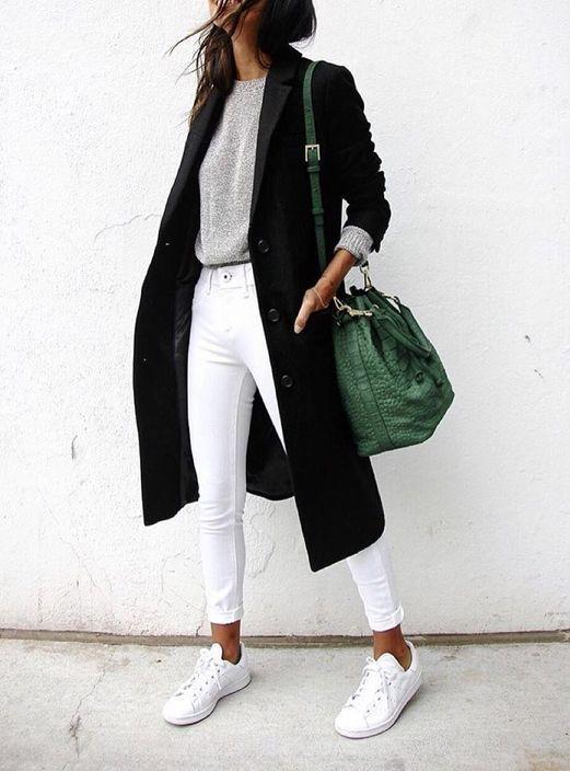 white converse street style